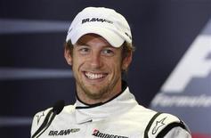 <p>Il pilota della Brawn Gp Jenson Button. REUTERS/Mick Tsikas</p>