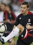 <p>Andriy Shevchenko, do Milan, durante treinamento em Doha, no início de março. Seu ex-companheiro de Chelsea, Frank Lampard, disse que Shevchenko é grande ameaça para a Inglaterra durante jogo com a Ucrânia, pelas Eliminatórias da Copa do Mundo. REUTERS/Fadi Al-Assaad</p>