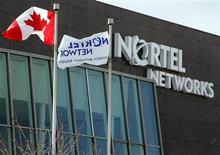 <p>Nortel Networks, en dépôt de bilan depuis janvier, pourrait susciter des offres de la part d'Avaya et de Siemens Enterprise Communications. /Photo d'archives/REUTERS/Mike Cassese</p>