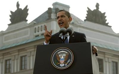 Obama sets out plan for nuclear-free world