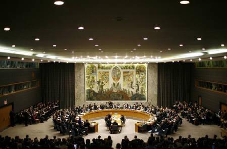 4月5日、国連安保理は北朝鮮ロケット発射で直ちに行動取らず。1月6日撮影(2009年 ロイター/Mike Segar)