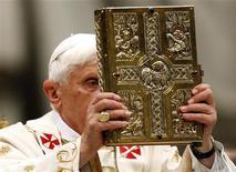 <p>Papa Benedetto XVI. REUTERS/Giampiero Sposito (VATICAN RELIGION SOCIETY)</p>