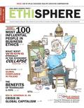 <p>Una immagine della copertina del magazine di Ethisphere, tratta dal sito Internet del gruppo. REUTERS/HO</p>