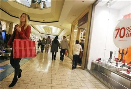 A shopper at the Beverly Center shopping mall in a file photo. REUTERS/Fred Prouser