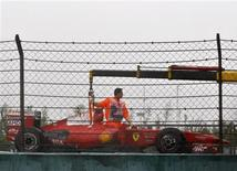 <p>Carro de Felipe Massa do GP da China. REUTERS/ Reinhard Krause</p>