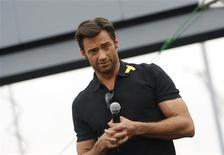 "<p>Ator Hugh Jackman na estreia do filme ""X-Men Origens: Wolverine"" no Arizona. 27/04/2009. REUTERS/Joshua Lott</p>"