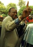 <p>Il ministro delle Finanze del Kenya, Uhuru Kenyatta. REUTERS/Patrick Olum PO/AA</p>