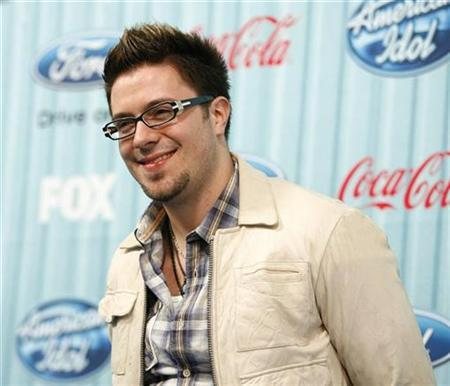 Performer Danny Gokey poses at the party for the 12 finalists of the television show ''American Idol'' in Los Angeles March 5, 2009. REUTERS/Mario Anzuoni