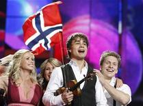 <p>Rybak, cantante norvegese vincitore dell'Eurofestival 2009. REUTERS</p>