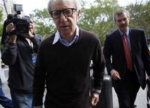 <p>Actor and director Woody Allen arrives at a federal courthouse in New York May 18, 2009. REUTERS/Eric Thayer</p>