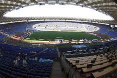 <p>Champions, Alemanno: decisiva per altre candidature di Roma. REUTERS/Tony Gentile</p>
