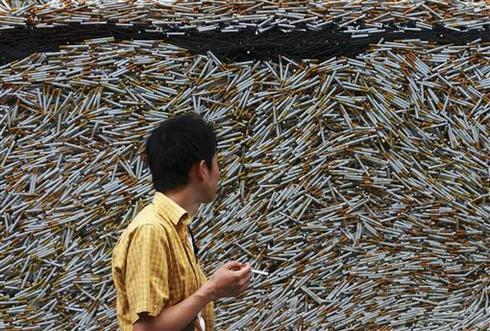 China's big smoking habit