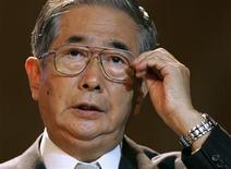 <p>Foto de arquivo do governador da região de Tóquio, Shintaro Ishihara em Seul. 19/05/2009. REUTERS/Jo Yong-Hak</p>