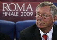 <p>Técnico do Manchester United na final da Liga dos Campeões em Roma. 27/05/2009. REUTERS/Darren Staples</p>