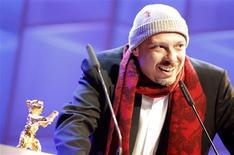 <p>Foto de arquivo do cineasta brasileiro José Padilha no Festival de Berlim. 16/02/2008. REUTERS/Johannes Eisele</p>