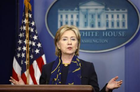6月7日、クリントン米国務長官は北朝鮮のテロ支援国家再指定を検討していると述べた。先月6日に撮影(2009年 ロイター/Kevin Lamarque)