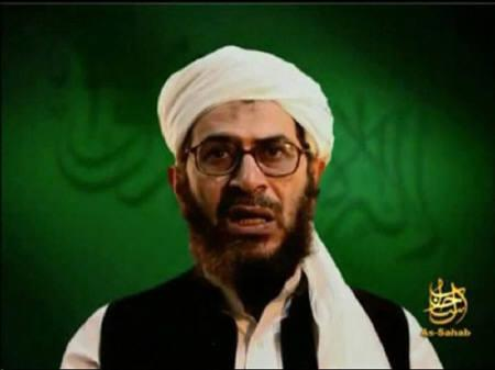 A video grab from an undated footage from the Internet shows Al Qaeda leader in Afghanistan Mustafa abu al-Yazid making statements from an unknown location. REUTERS/REUTERS TV/Files