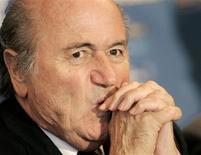 <p>Presidente da Fifa, Joseph Blatter. 20/07/2007. REUTERS/Dominic Ebenbichler</p>
