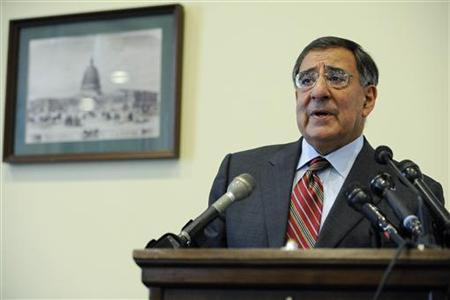 Central Intelligence Agency Director Leon Panetta delivers remarks at a National Italian American Foundation policy luncheon on Capitol Hill in Washington, June 11, 2009. REUTERS/Jonathan Ernst