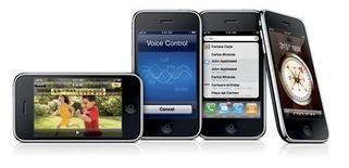 <p>Apple annonce avoir vendu en trois jours plus d'un million d'exemplaires de son nouvel iPhone 3GS qui a été lancé dans huit pays, dont la France, vendredi dernier. /Photo diffusée le 8 juin 2009/REUTERS/Apple Inc/Handout</p>