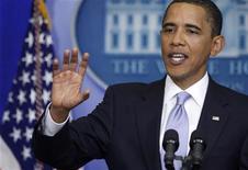 <p>Il presidente Usa Barack Obama. REUTERS/Jason Reed (UNITED STATES POLITICS)</p>
