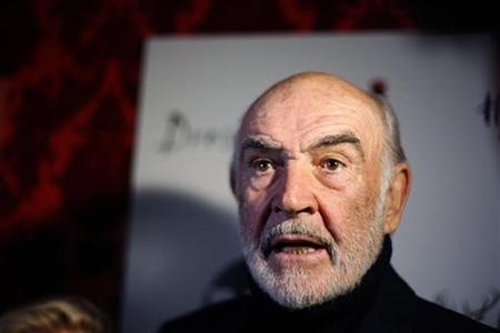 Actor Sean Connery arrives at a ''Dressed To Kilt'' fashion event in New York March 30, 2009. REUTERS/Lucas Jackson