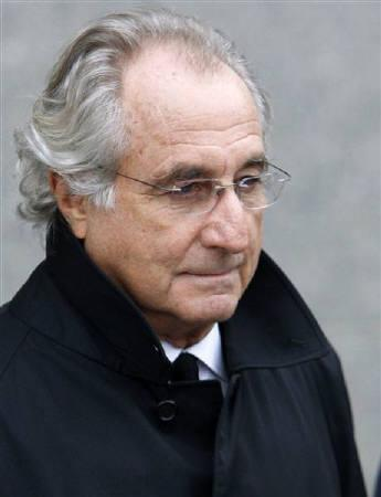 Accused swindler Bernard Madoff exits the Manhattan federal court house in New York in this January 14, 2009 file photo. REUTERS/Brendan McDermid/Files