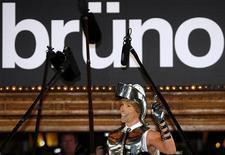 """<p>L'attore britannico Sacha Baron Cohen alla prima del film """"Bruno"""" a Sydney, lo scorso 29 giugno. REUTERS/Daniel Munoz</p>"""