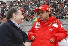 <p>O ex-chefe da Ferrari Jean Todt anunciou nesta quinta-feira sua intenção de suceder Max Mosley como presidente da Federação Internacional de Automobilismo (FIA). REUTERS/Issei Kato</p>