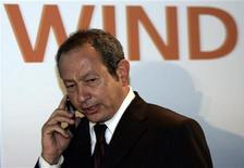 <p>L'imprenditore egiziano Naguib Sawiris. REUTERS/Alessandro Bianchi</p>