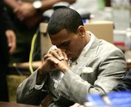 <p>Foto de arquivo do cantor Chris Brown em Los Angeles. 22/06/2009. REUTERS/Lori Shepler</p>