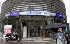 <p>Belgacom annonce une baisse moins marquée que prévu de son Ebitda du premier semestre 2009 et confirme ses prévisions pour l'ensemble de l'année. /Photo d'archives/REUTERS/Thierry Roge</p>