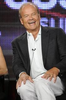Cast member Kelsey Grammer from the show ''Hank'' answers questions during the Disney and ABC Television Group panels at the Television Critics Association summer press tour in Pasadena, California August 8, 2009. REUTERS/Phil McCarten