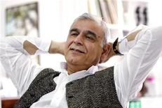 <p>The late Indian-born film producer Ismail Merchant is pictured in Bombay in this February 20, 2004 file photo. REUTERS/Sherwin Crasto</p>