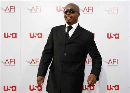 M.C. Hammer arrives at the taping of the American Film Institute's 36th Life Achievement Award gala honoring Warren Beatty at the Kodak theatre in Hollywood, California June 12, 2008. REUTERS/Mario Anzuoni