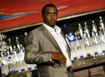 "<p>Sean ""Diddy"" Combs is pictured after announcing his alliance with Ciroc vodka and the Diageo spirits company in New York, October 24, 2007. REUTERS/Shannon Stapleton</p>"