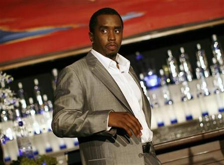 Sean ''Diddy'' Combs is pictured after announcing his alliance with Ciroc vodka and the Diageo spirits company in New York, October 24, 2007. REUTERS/Shannon Stapleton