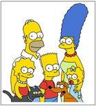 """<p>Foto de arquivo da família disfuncional norte-americana favorita """"Os Simpsons"""".</p>"""