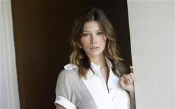"<p>Jessica Biel poses for a portrait while promoting her film ""Easy Virtue"" in Beverly Hills, California, May 20, 2009. REUTERS/Danny Moloshok</p>"
