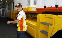 <p>Fernando Alonso disse que Renault precisa de sorte e um fim de semana perfeito na Bélgica. REUTERS/Thierry Roge</p>