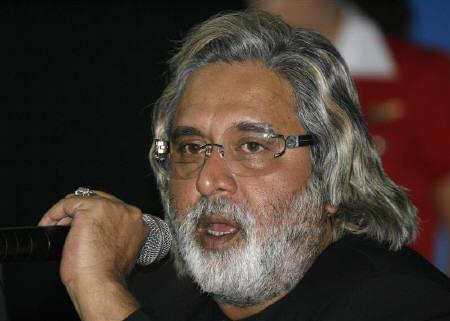 Chairman and Chief Executive Officer of Kingfisher Airlines Ltd. Vijay Mallya speaks during a news conference in New Delhi in this May 7, 2007 file photo. REUTERS/B Mathur/Files