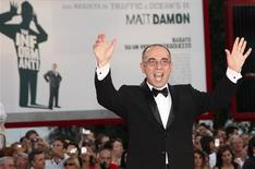 <p>Italian director Giuseppe Tornatore arrives for the screening of his film 'Baaria' at the Palazzo del Cinema building during the 66th Venice Film Festival September 2, 2009. REUTERS/Alessandro Bianchi</p>