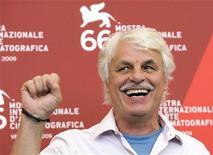 <p>Il regista Michele Placido alla Mostra Internazionale del Cinema di Venezia. REUTERS/Alessandro Bianchi</p>