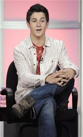 Cast member David Henrie answers questions during the panel for the Disney Channel series ''Wizards of Waverly Place'' at the Television Critics Association Summer Press Tour in Beverly Hills, California July 14, 2007. REUTERS/Phil McCarten