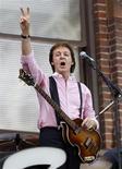 <p>Paul McCartney é o Beatle favorito dos americanos REUTERS/Mike Segar (UNITED STATES ENTERTAINMENT)</p>
