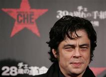 """<p>O ator Benicio Del Toro encarnou o líder guerrilheiro da revolução cubana no filme """"Che"""" REUTERS/Yuriko Nakao (JAPAN)</p>"""