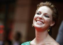 """<p>Katherine Heigl estrela a anti-comédia romântica """"A Verdade Nua e Crua"""" REUTERS/Luke MacGregor (BRITAIN ENTERTAINMENT)</p>"""