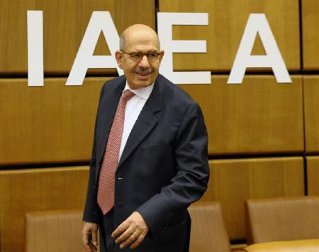 International Atomic Energy Agency IAEA Director General Mohamed ElBaradei in Vienna June 18, 2009. REUTERS/Herwig Prammer/Files