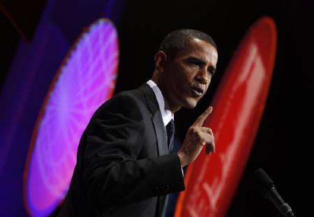 9月20日、オバマ大統領が米国の雇用創出は来年以降になるとの見通しを示した。ワシントンで16日撮影(2009年 ロイター/Jim Young)