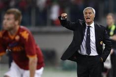 <p>Claudio Ranieri, allenatore della Roma ed ex guida del Chelsea. REUTERS/Tony Gentile (ITALY SPORT SOCCER)</p>